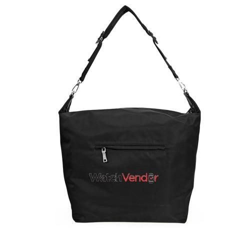 8940070811 Prada Fabric Hobo Bag- Black   Tote Bags - Best Buy Canada