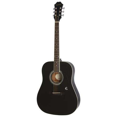 Guitare acoustique FT-100 d'Epiphone - Ébène - Exclusivité BBY