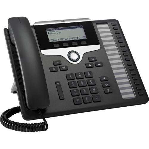 Cisco 7861 IP Phone - Cable - Wall Mountable, Desktop