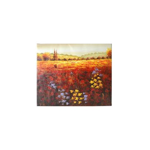 """Oil Painting on Canvas Ready to Hang - Garden - 20 X 24"""""""