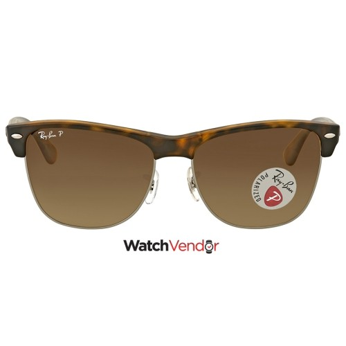 895e4ecf26 Ray Ban Clubmaster Oversized Polarized Brown Gradient Sunglasses    Sunglasses - Best Buy Canada