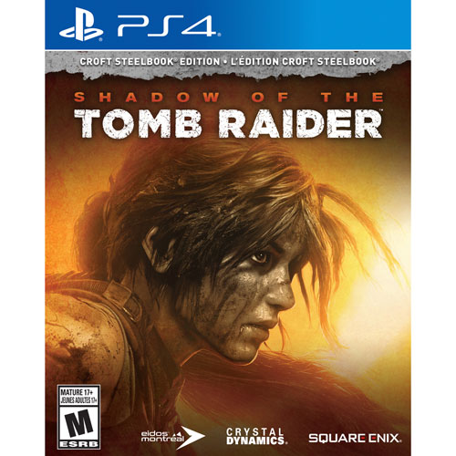 PS4 Shadow of the Tomb Raider: Croft SteelBook Edition