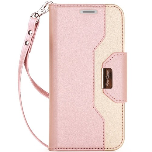 brand new b23c9 14d05 Procase Wallet Case for iPhone X