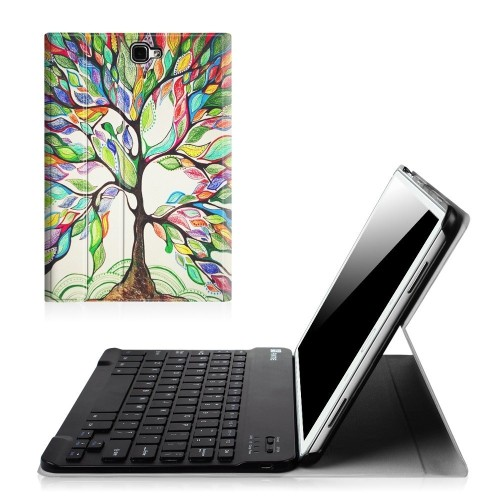 080074727 Fintie Samsung Galaxy Tab A 10.1 (NO S Pen Version) Keyboard Case ...