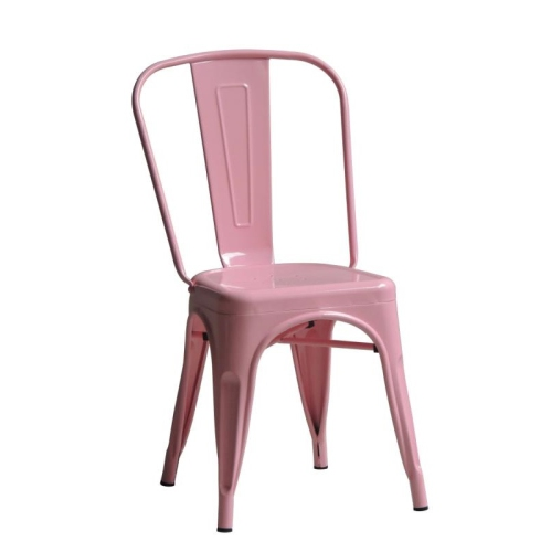 Roch Armless Chair (Powdered Coated)   Light Pink By Walnut Décor : Dining  Chairs   Best Buy Canada