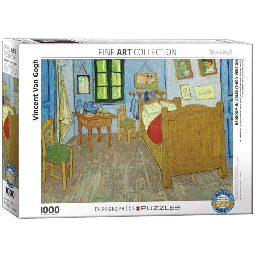 Bedroom in Arles by Vincent van Gogh 1000-Piece Puzzle