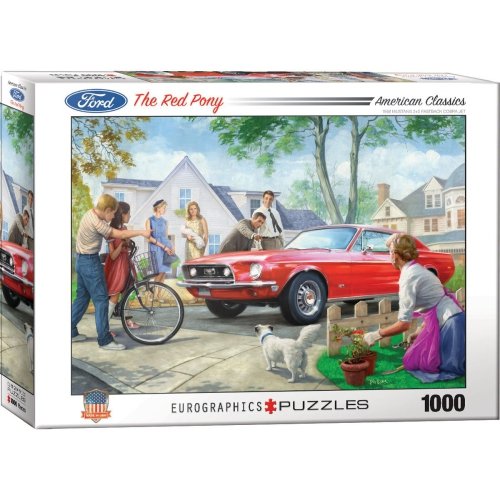 The Red Pony by Nestor Taylor 1000-Piece Puzzle