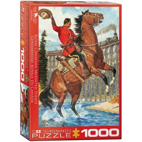 RCMP Train Salute 1000-Piece Puzzle