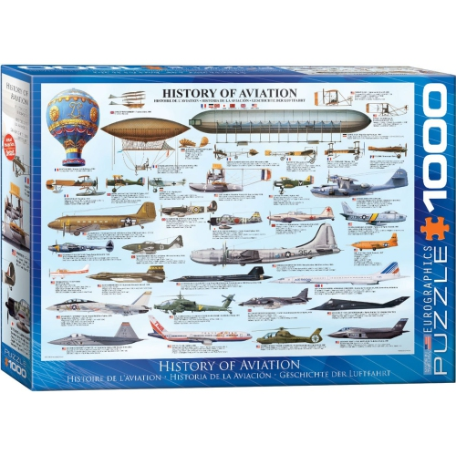 History of Aviation 1000-Piece Puzzle