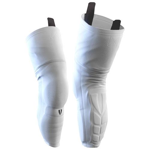 Vital Nation Protective Kevlar Hockey Socks Senior White Best