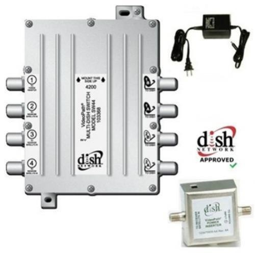 Videopath Sw 44 Sw44 Multi Dish Switch With Power