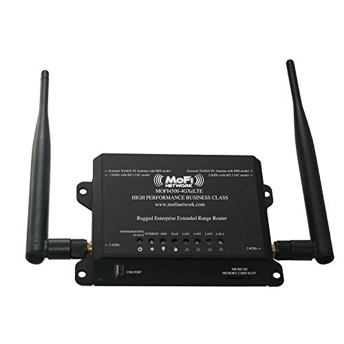 Mofi Network MOFI4500-4GXeLTE 4G/LTE Router with extended WiFi Range