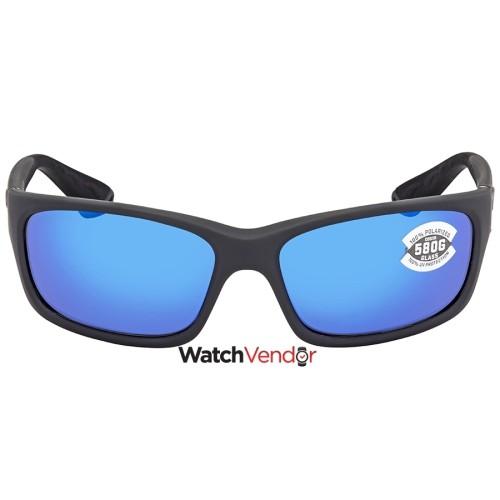 c9f6822602305 Overview. Costa Del Mar Jose Blue Mirror Glass W580 Rectangular Sunglasses  JO 98 OBMGLP