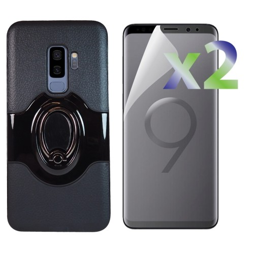 best service 39275 d85cd Exian Fitted Hard Shell Case for Samsung Galaxy S9 Plus - Black - Online  Only