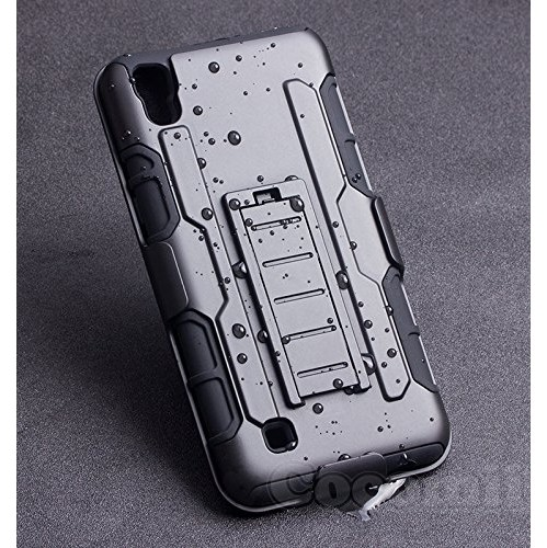 quality design 59894 cbbb9 LG X Power Case, Cocomii Robot Armor NEW [Heavy Duty] Premium Belt Clip  Holster Kickstand Shockproof Hard Bumper Shell [Milita
