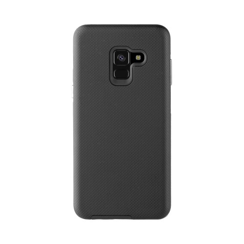 online retailer ee408 6a7ed Xqisit Fitted Hard Shell Case for Samsung A8 (2018) - Black