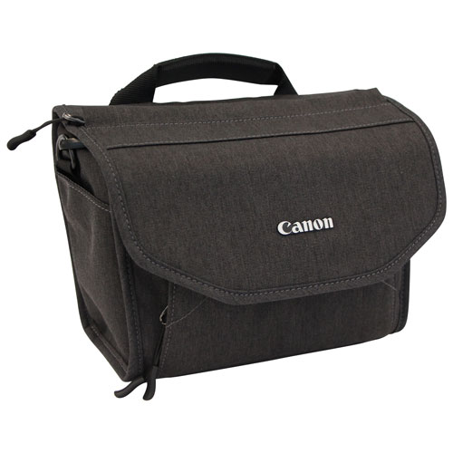Canon Top Load Nylon Digital SLR Camera Bag (3378V073) - Grey   DSLR Cases    Bags - Best Buy Canada 5b1d0baeaa36c