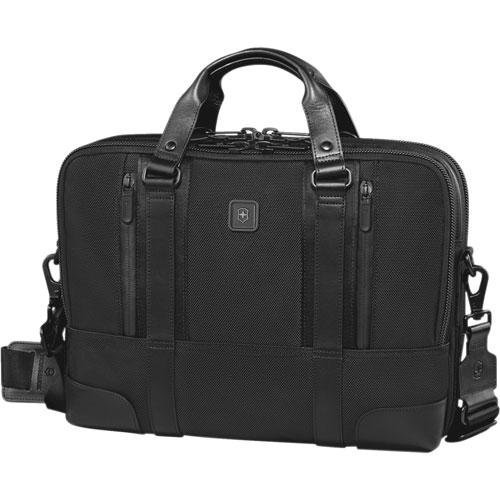 "Victorinox Lexicon Professional Lasalle 15"" Laptop Briefcase - Black"