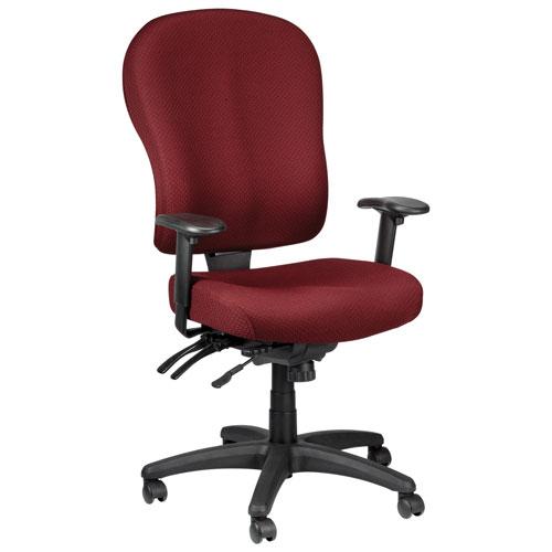 Temp By Raynor Tempur-Pedic Ergonomic High-Back Fabric Office Chair - Burgundy  Office Chairs - Best Buy Canada  sc 1 st  Best Buy Canada & Temp By Raynor Tempur-Pedic Ergonomic High-Back Fabric Office Chair ...