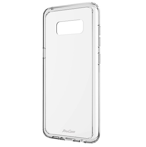 save off 6ff12 ee27a Samsung Galaxy S8 Case, ProCase Slim Hybrid Crystal Clear Cover Protective  Case for Samsung Galaxy S8-Clear