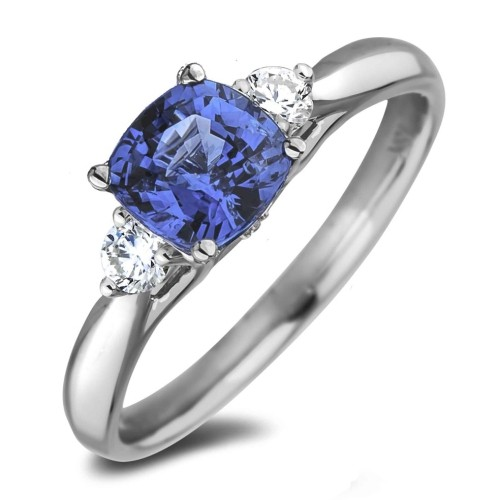 Sapphire And Diamond Trilogy Ring Rings Best Buy Canada