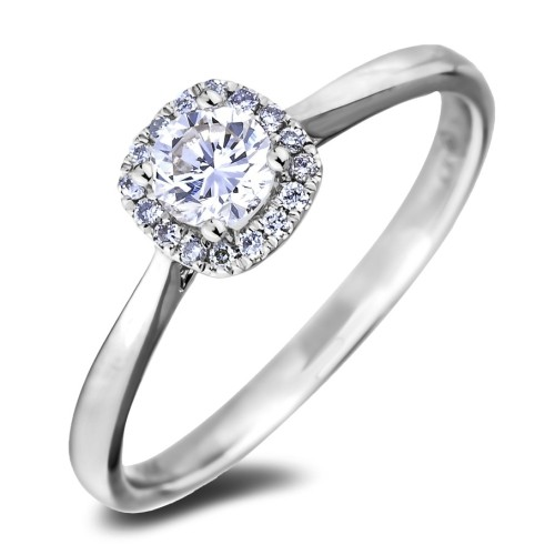 Canadian Diamond Halo Engagement Ring Rings Best Buy Canada