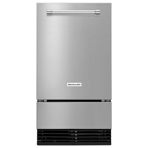 KitchenAid 35 lb. Ice Maker - Printshield Stainless