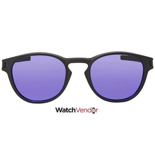 ce4c37f173 Oakley Latch Violet Iridium Round Sunglasses OO9265-926506-53   Sunglasses  - Best Buy Canada