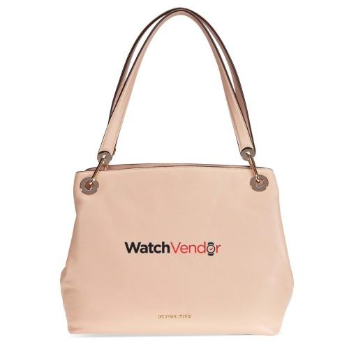 741c2c1102a4 Michael Kors Raven Large Leather Shoulder Bag - Oyster   Tote Bags - Best  Buy Canada
