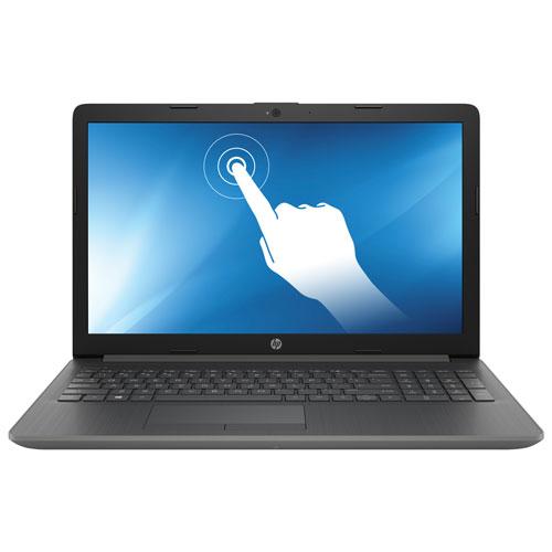 "HP 15.6"" Touchscreen Laptop - Smoke Grey (AMD A9-9425/1TB HDD/8GB RAM/Windows 10)"