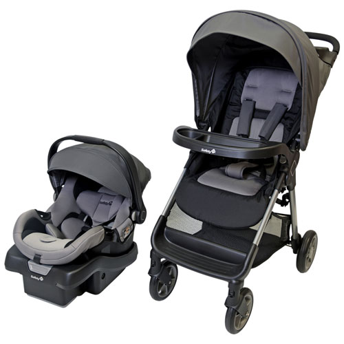 Safety 1st Smooth Ride Standard Stroller With OnBoard 35 Infant Car Seat