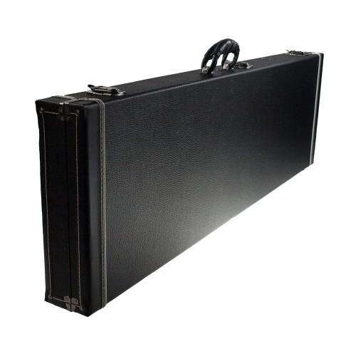 Solo PJ Style Hardshell Electric Bass Case, Black
