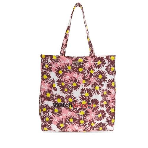 7089785b03ce ... uk prada floral nylon tote pink tote bags best buy canada 85cf5 993d0  ...