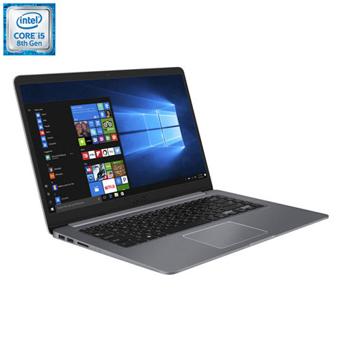 "ASUS Vivobook 15.6"" Laptop - Grey (Intel Core i5-8250U/256GB SSD/8GB RAM/Windows 10)"