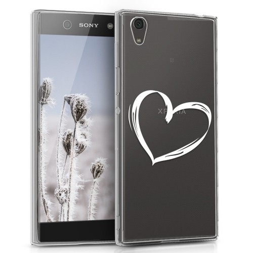premium selection 4a852 9fd76 Kwmobile Fitted Soft Shell Case for Sony Xperia Xa1 Ultra - White