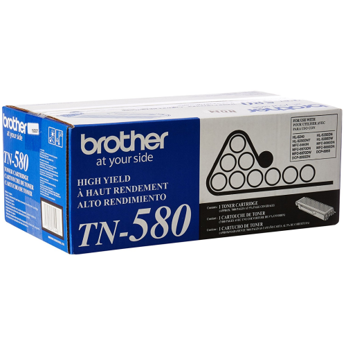 TN580 For Brother Toner Cartridge TN-580 High Yield HL-5240 DCP-8060 MFC-8460N