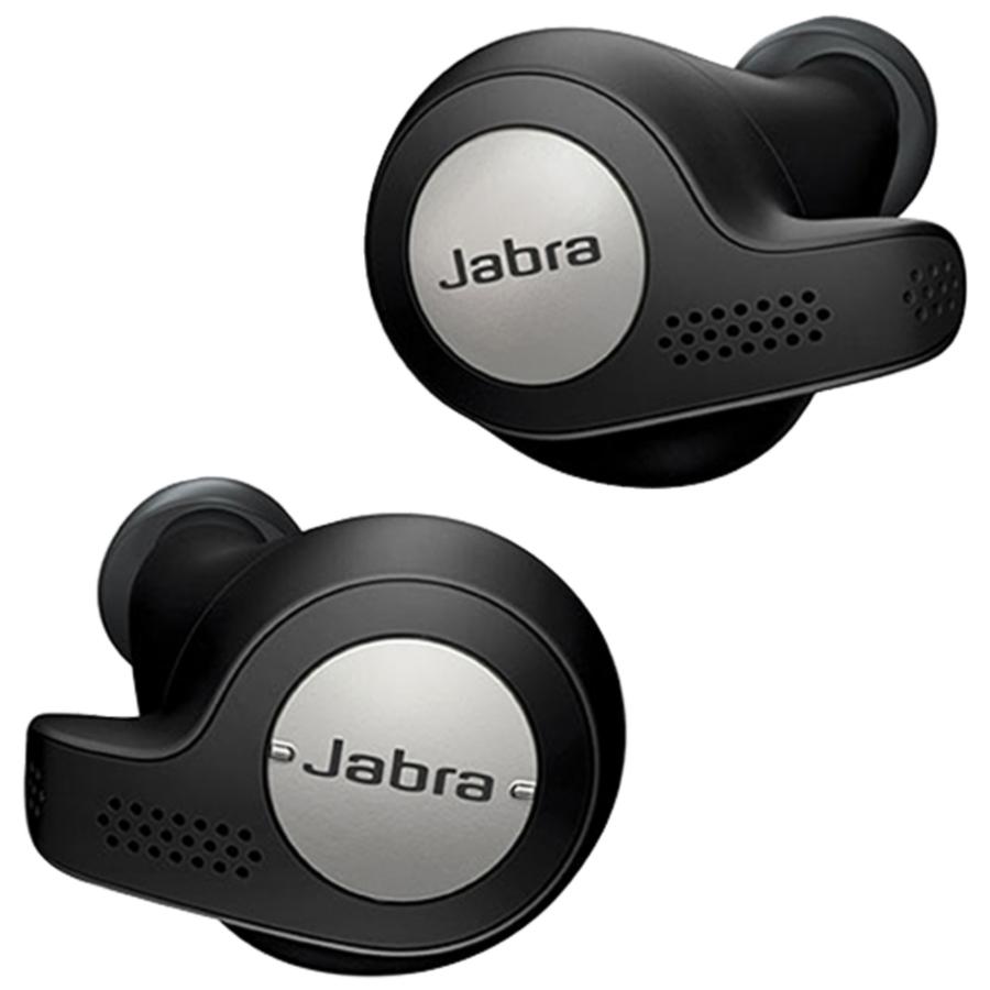 Jabra Elite Active 65t In-Ear Truly Wireless Headphones - Black