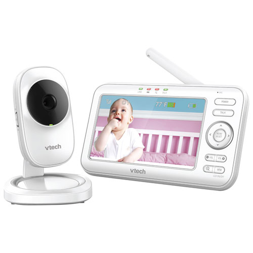 """VTech 5"""" Video Baby Monitor with Night Vision and Two-Way Communication"""