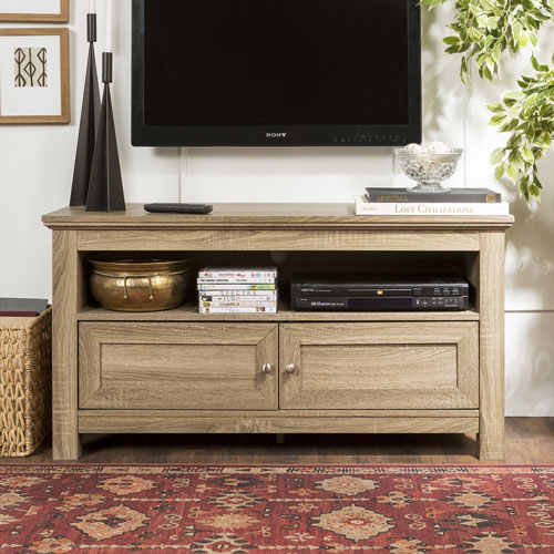 """Winmoor Home Traditional 48"""" TV Stand - Grey"""