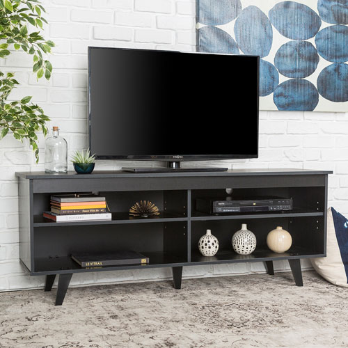 "Winmoor Home Contemporary 60"" TV Stand - Black"