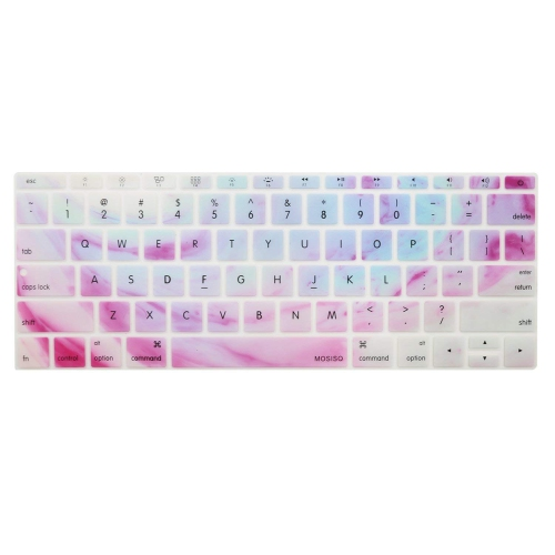 for MacBook 12 A1534 Retina Us English Keyboard Cover Protector Skin-Purple for MacBook Pro 13 A1708 2017 Release No Touch Bar