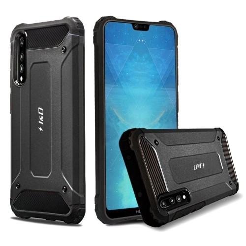 best website 13a59 b3ef3 Huawei P20 Pro Case, J&D [ArmorBox] [Dual Layer] Hybrid Shock Proof  Protective Rugged Case for Huawei P20 Pro - [NOT for Huawe