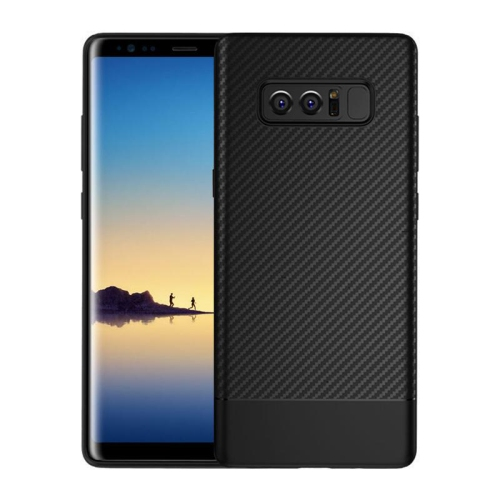 quality design 2b658 4a2c8 Pandaco Fitted Soft Shell Case for Samsung Galaxy Note 8 - Black