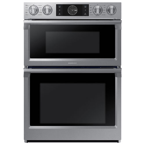 Samsung 30 Quot 5 1 Cu Ft 1 4 Cu Ft Double Wall Oven