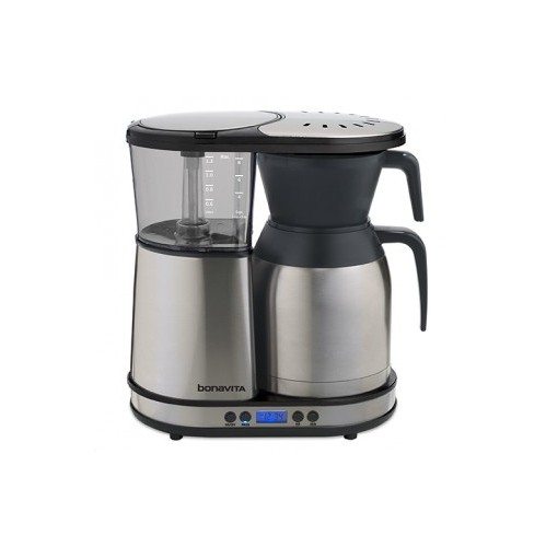 bonavita bv1900td 8 cup digital coffee maker with thermal carafe stainless steel lined coffee. Black Bedroom Furniture Sets. Home Design Ideas