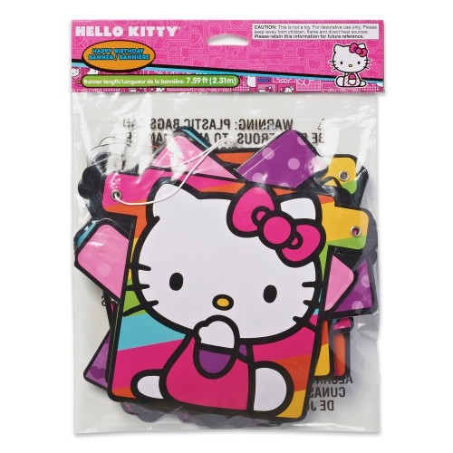 American Greetings Hello Kitty Birthday Banner Party Supplies Novelty   Party  Supplies - Best Buy Canada 621a2d0ea6