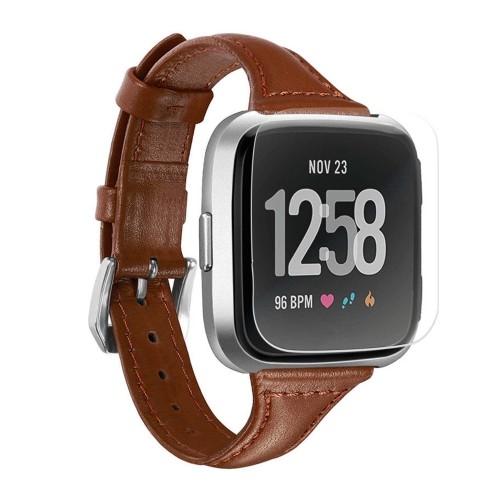 StrapsCo Fitbit Versa Smartwatch Hydrogel Protecteur d'écran