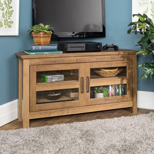 """Winmoor Home 48"""" TV Stand - Rustic Oak"""
