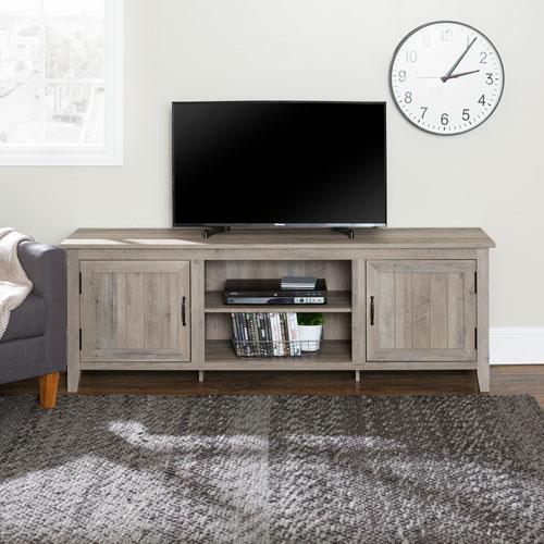 "Winmoor Home 78"" TV Stand - Grey"