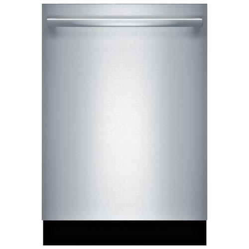 Lave-vaisselle encastrable 24 po 48 dB avec troisième panier série 100 de Bosch - Inox